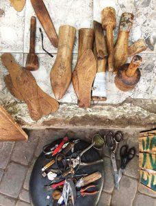 Leather goods, Marrakech souk