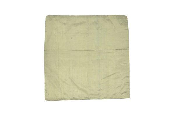 Housses de coussins Banjara en soie pure, brodées à la main, dos