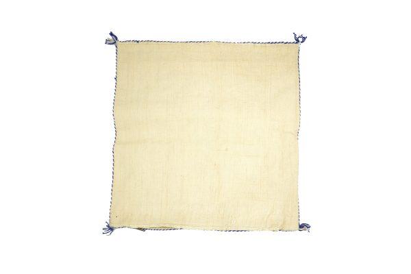 Moroccan cushion cover Sabra kilim natural white