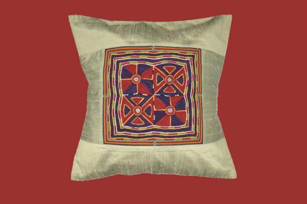 Emroidered Banjara cushion, masterpiece!