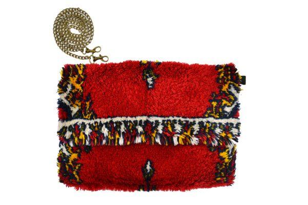 Pochettes Kilim réalisées dans des tapis traditionnels