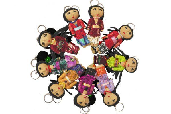 keyring dolls by balimum