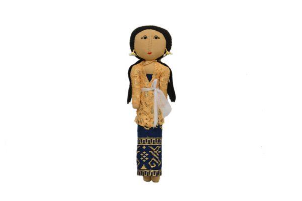 Luce Balenese JKeemasan. Handmade batik fabric dolls
