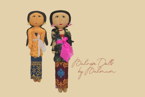 Balinese dolls handmade by Balimum mothers