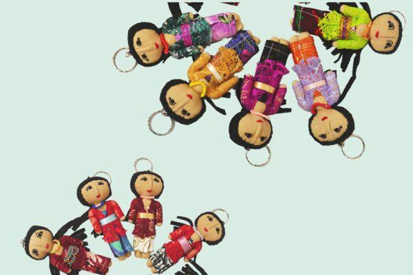 keyring balimum dolls