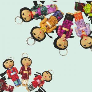 KEYRING Dolls